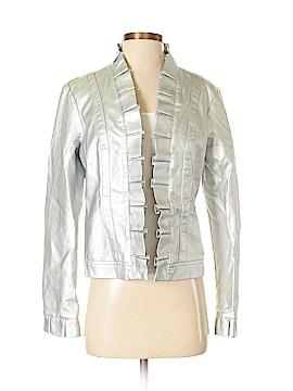 Baccini Leather Jacket Size M