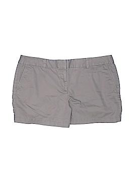 Ann Taylor LOFT Outlet Khaki Shorts Size 14 (Petite)