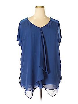 Kate & Mallory designs Short Sleeve Blouse Size 2X (Plus)
