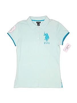 U.S. Polo Assn. Short Sleeve Polo Size M (Youth)