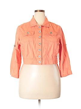 Ashley Stewart Denim Jacket Size 1X (Plus)