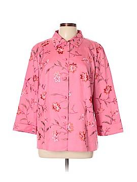 Dana Buchman Silk Blazer Size 14