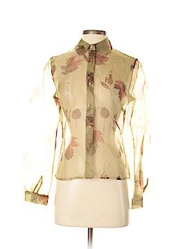 Grace Long Sleeve Silk Top Size 4