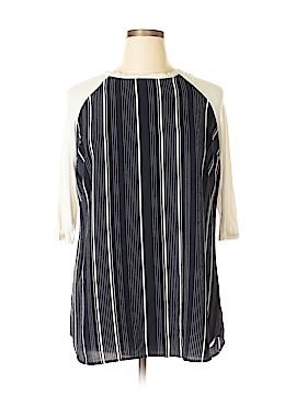 Unbranded Clothing Short Sleeve Blouse Size 1X (Plus)