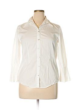Sundance Long Sleeve Button-Down Shirt Size 14