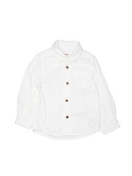 Cat & Jack Long Sleeve Button-Down Shirt Size 3T