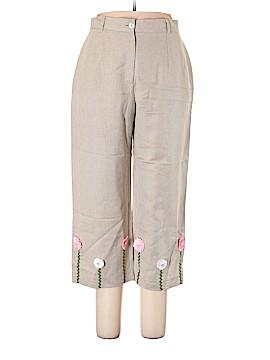 Harve Benard by Benard Holtzman Linen Pants Size 14