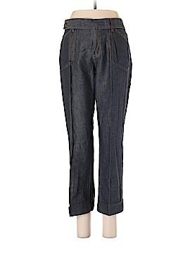 Nautica Jeans Company Linen Pants Size 8