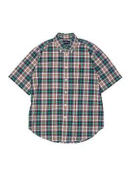 Ralph by Ralph Lauren Short Sleeve Button-Down Shirt Size 14