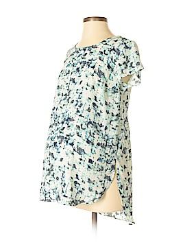 Liz Lange Maternity Short Sleeve Blouse Size XS (Maternity)