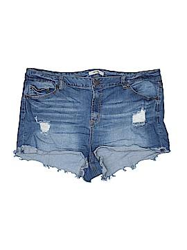 Refuge Denim Shorts Size 18 (Plus)