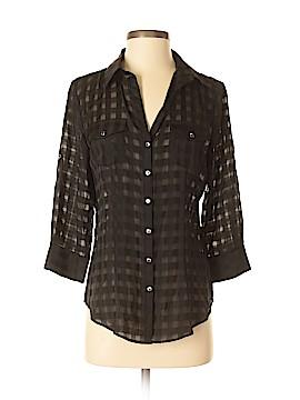 White House Black Market 3/4 Sleeve Blouse Size 4