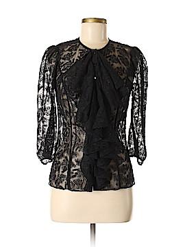Catherine Malandrino 3/4 Sleeve Blouse Size 8