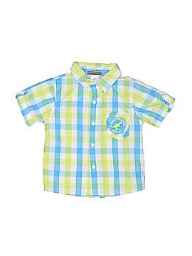 Boyz Wear By Nannette Short Sleeve Button-Down Shirt Size 3T
