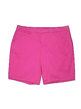 Lane Bryant Khaki Shorts Size 18 (Plus)