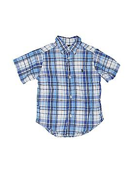 Ralph Lauren Short Sleeve Button-Down Shirt Size 3/3t