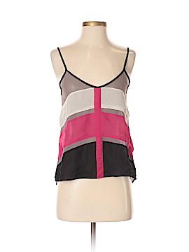 Sparkle & Fade Sleeveless Blouse Size XS