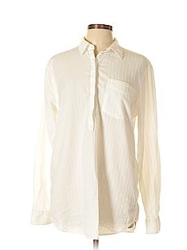 Gap Short Sleeve Button-Down Shirt Size L (Tall)