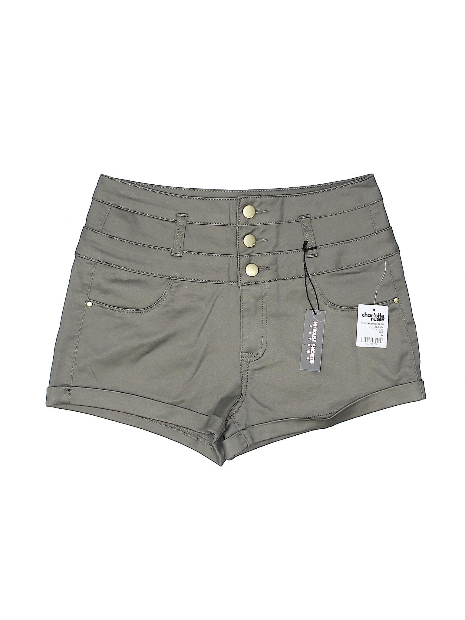 Boutique Boutique Refuge Refuge Shorts Khaki Khaki qvawq4xZ