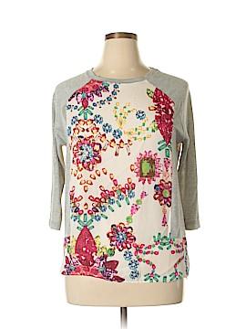 OVI 3/4 Sleeve Blouse Size L