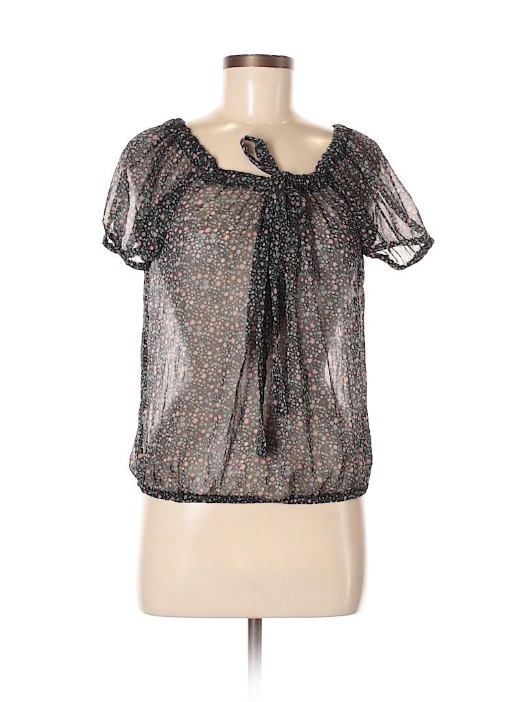 Fire Los Angeles Women Short Sleeve Blouse Size S