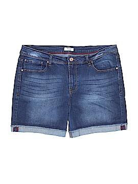 Kensie Denim Shorts Size 14