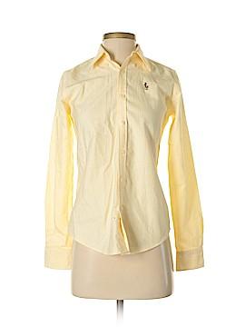 Ralph Lauren Long Sleeve Button-Down Shirt Size 0