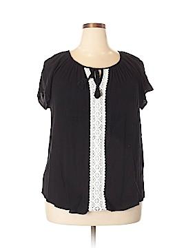 Karen Kane Short Sleeve Top Size 1X (Plus)