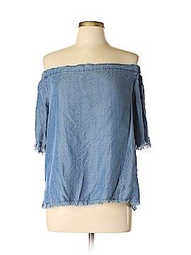 BP. Short Sleeve Blouse Size L