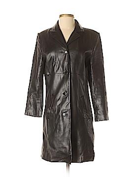 Jones New York Leather Jacket Size S (Petite)