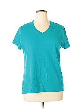 Just My Size Short Sleeve T-Shirt Size 16w Plus (Plus)