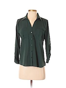 Mine 3/4 Sleeve Button-Down Shirt Size S