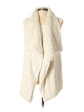 Aerie Faux Fur Vest Size XS - Sm