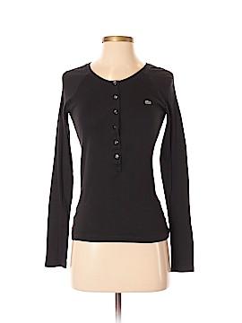 Lacoste Long Sleeve Henley Size 36 (EU)