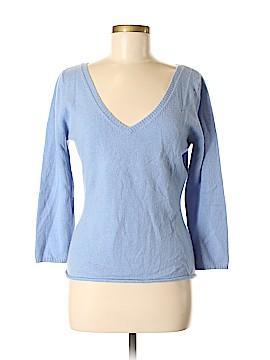 Garnet Hill Cashmere Pullover Sweater Size M