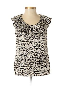 Ann Taylor Short Sleeve Blouse Size 00 (Petite)