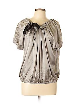 Cynthia Cynthia Steffe Short Sleeve Silk Top Size L