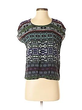 CAbi Short Sleeve Button-Down Shirt Size S