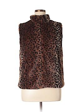 Betsey Johnson Faux Fur Jacket Size XL