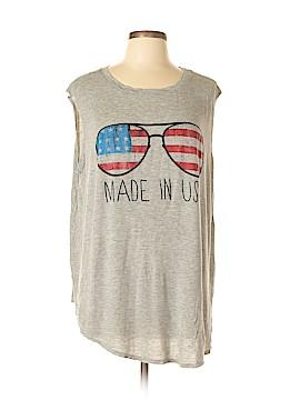 One Clothing Sleeveless T-Shirt Size 2X (Plus)