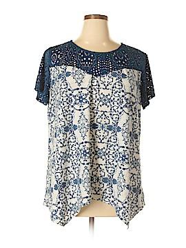 Dept222 Short Sleeve Top Size 1X (Plus)