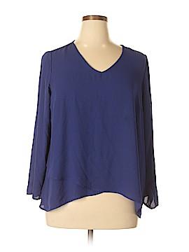 Apt. 9 Long Sleeve Blouse Size XL (Petite)