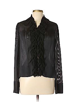Tuleh Long Sleeve Silk Top Size 10