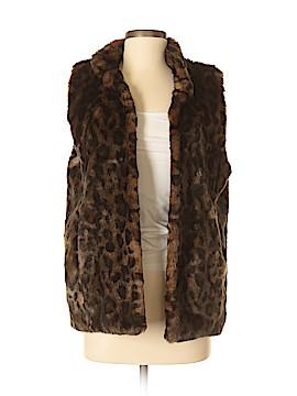 Donna Salyers' Fabulous Furs Faux Fur Vest Size S