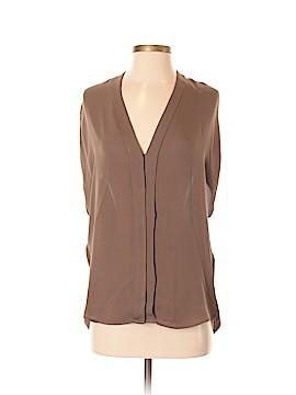 Vince. Short Sleeve Silk Top Size XS