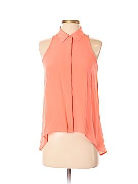 Acrobat Sleeveless Silk Top Size XS