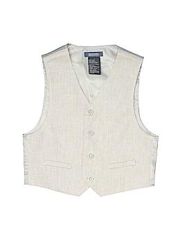 Kenneth Cole REACTION Tuxedo Vest Size 7