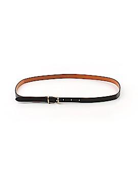 Halogen Leather Belt Size M