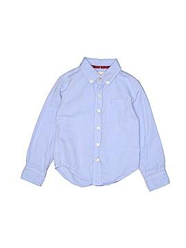 Peek... Long Sleeve Button-Down Shirt Size 5