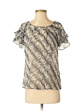 Banana Republic Short Sleeve Silk Top Size S